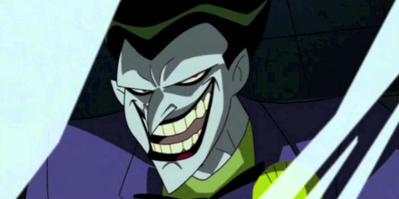Why Batman The Animated Series Redesigned The Joker Cbr