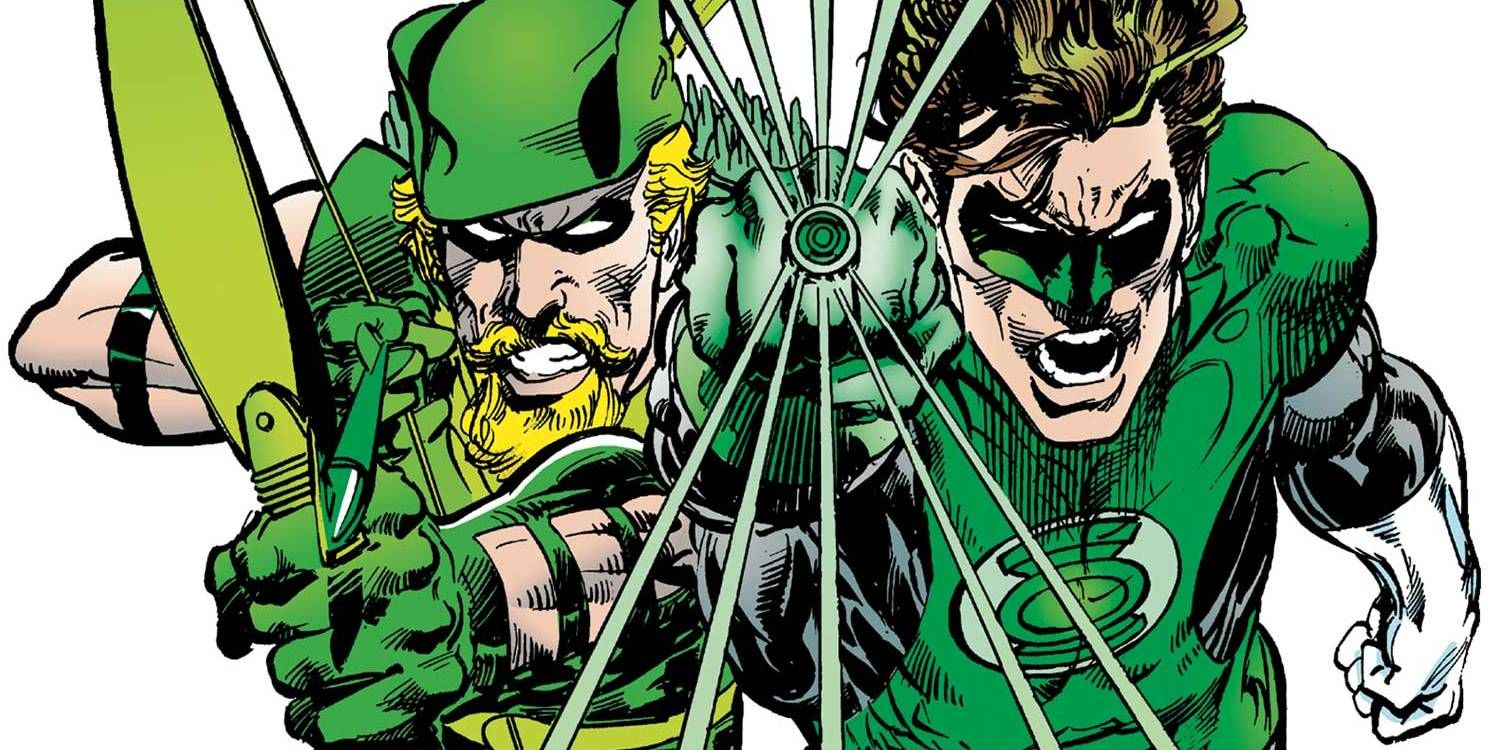 Image result for Green Lantern / Green Arrow