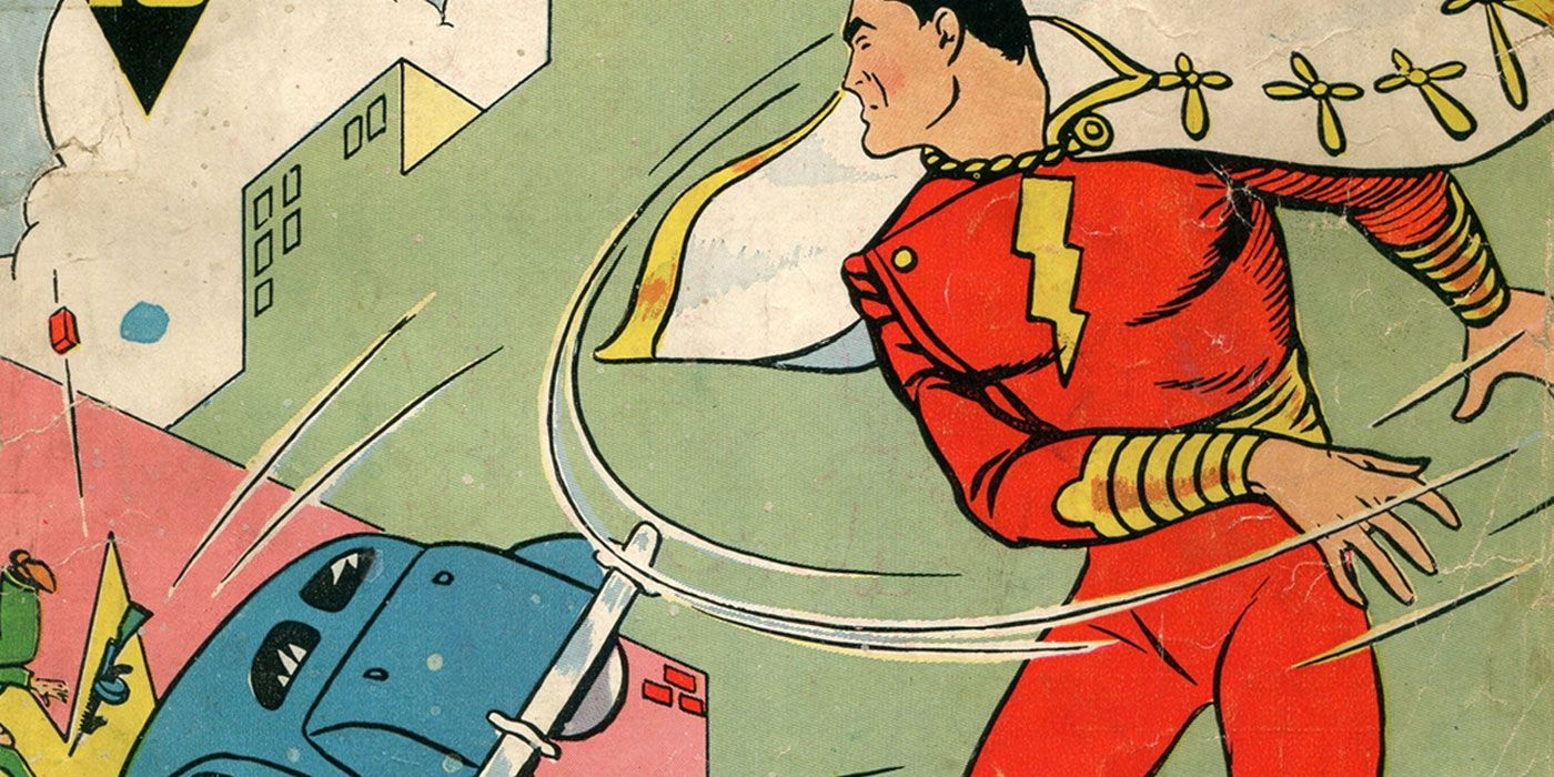 How Shazam! Beat Superman to Become the First Movie Superhero