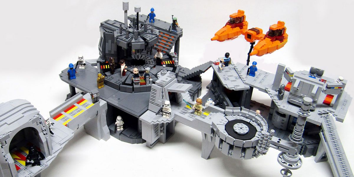 Star Wars Return To Cloud City With Fan Built Lego Bespin