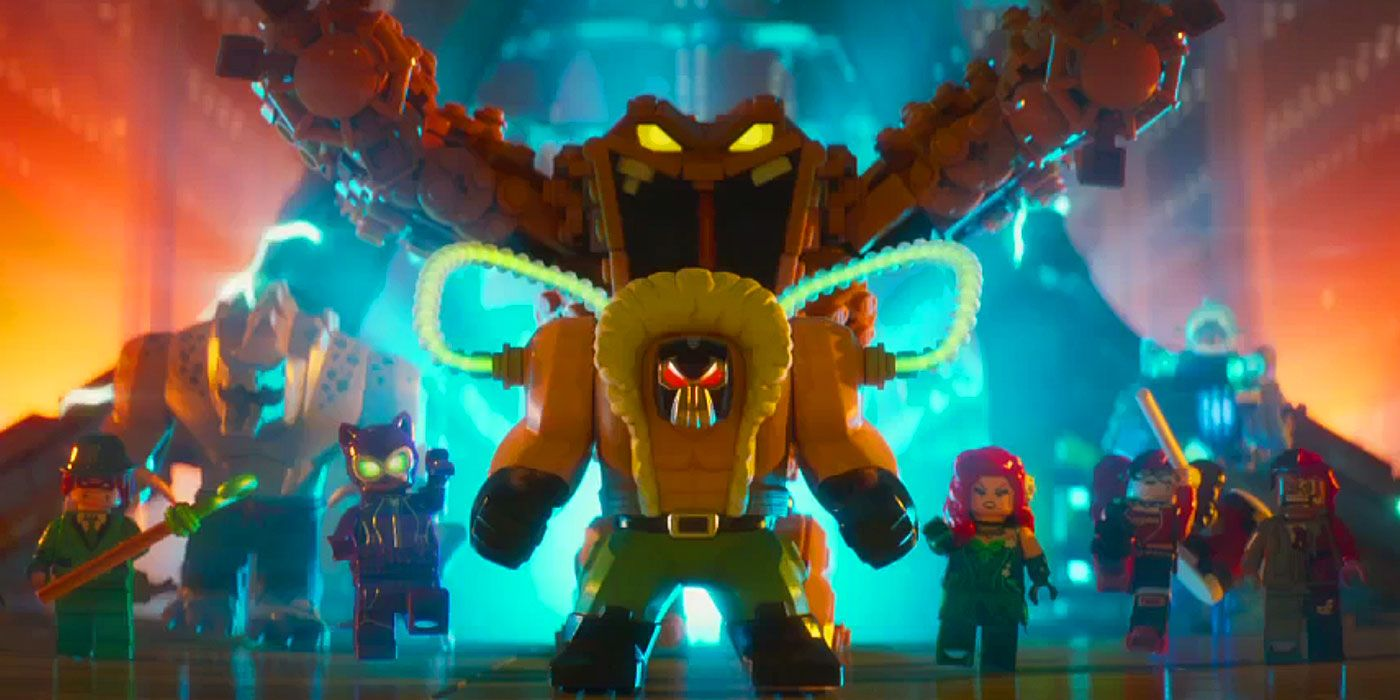 British Robots Bane Voice More Lego Batman Movie Questions Answered