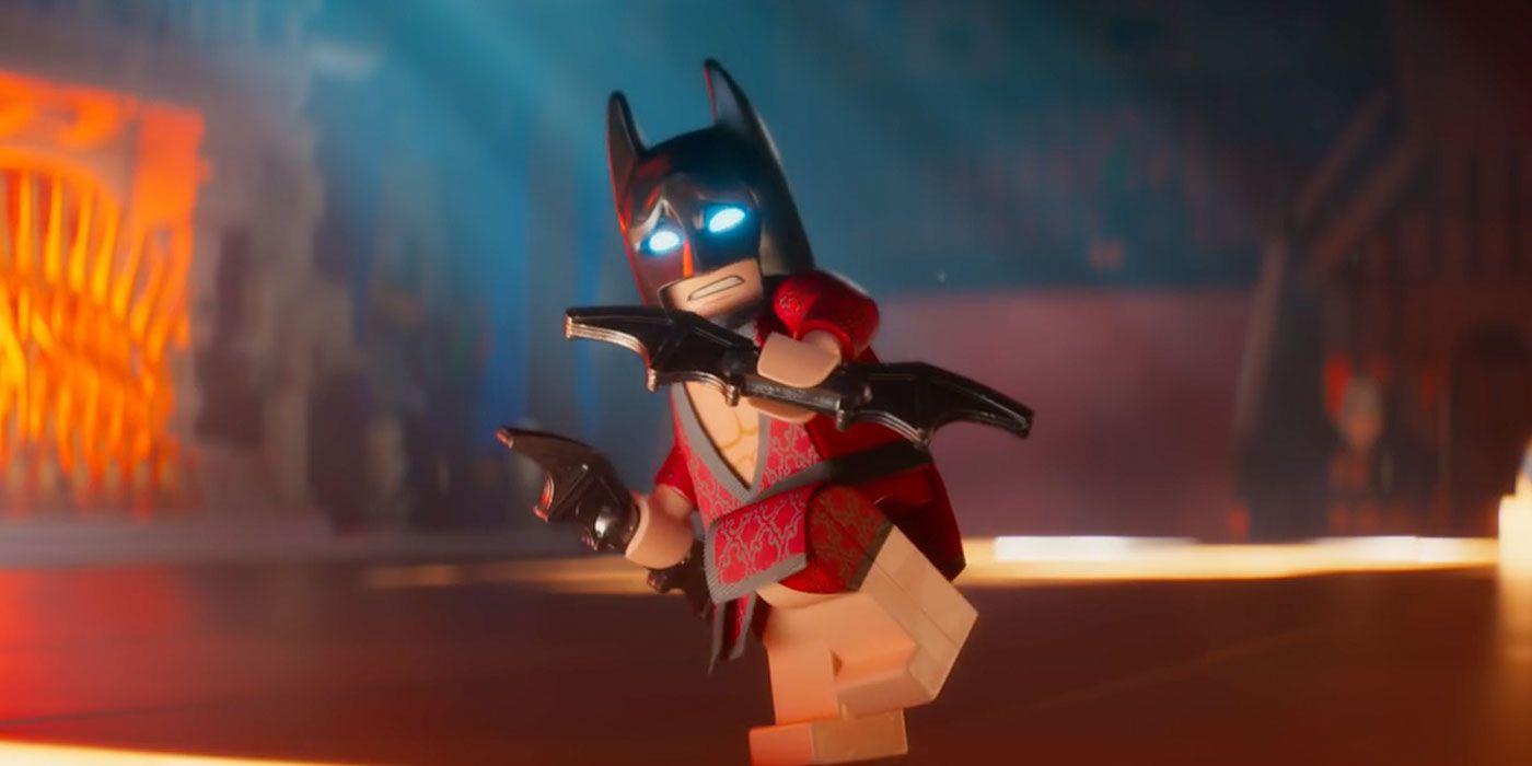 The Batman Set Photo Unintentionally Homages LEGO Batman's Casual Wear