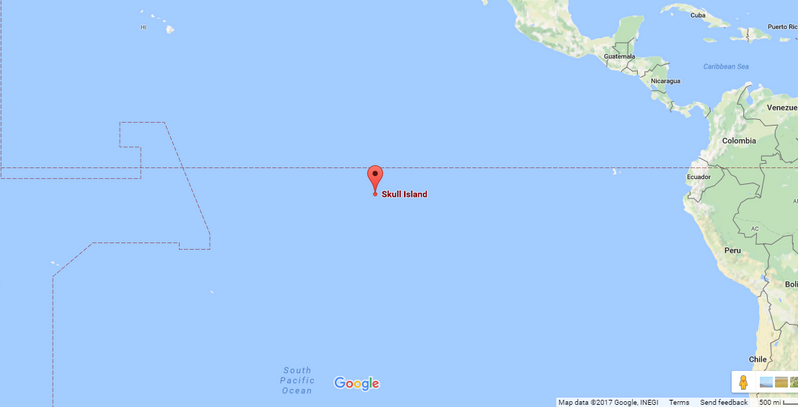 Kong\'s Skull Island is Now on Google Maps | CBR
