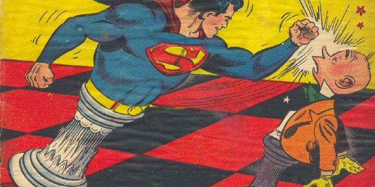 action comics 112 - Las 15 bromas más locas que Mr. Mxyzptlk le ha hecho a Superman