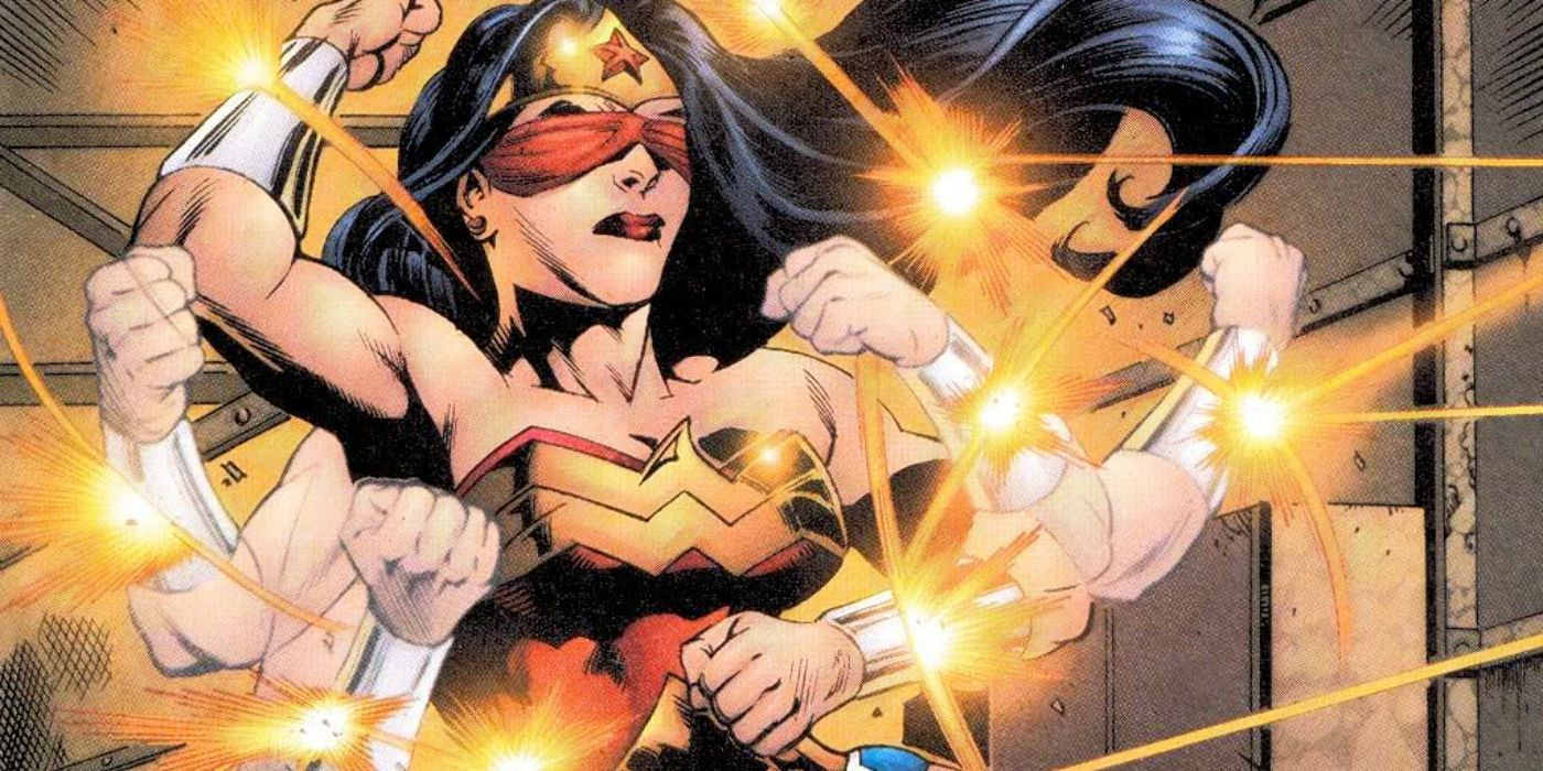 Wonder Womans Bracelets 15 Things You Need To Know Cbr