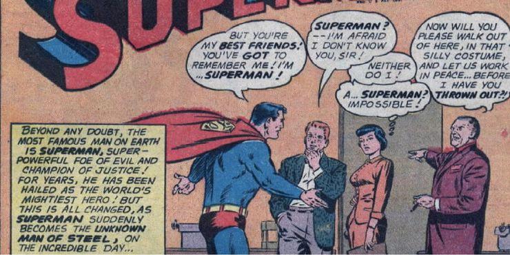 world forgot superman - Las 15 bromas más locas que Mr. Mxyzptlk le ha hecho a Superman