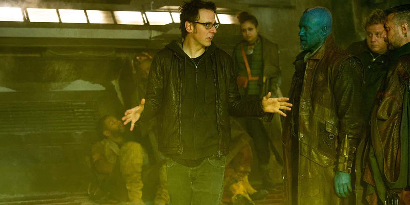 James Gunn Shares Marvel Directors Roundtable Photo   CBR