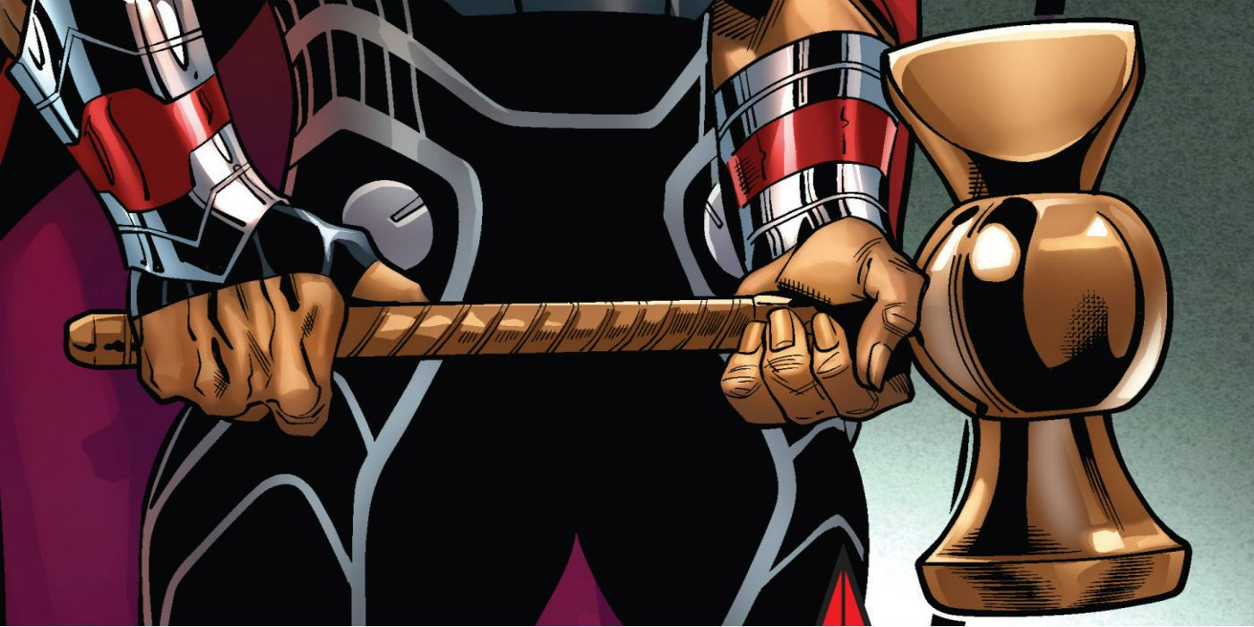 Avengers Infinity War Toy Confirms Origin Of Thor S Weapon Cbr