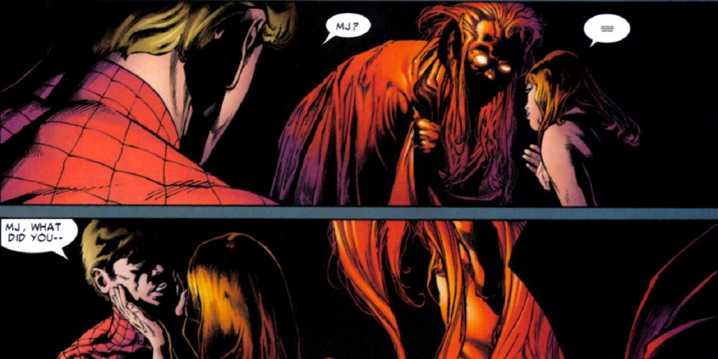 Comic Legends What Did Mary Jane REALLY Say To Mephisto