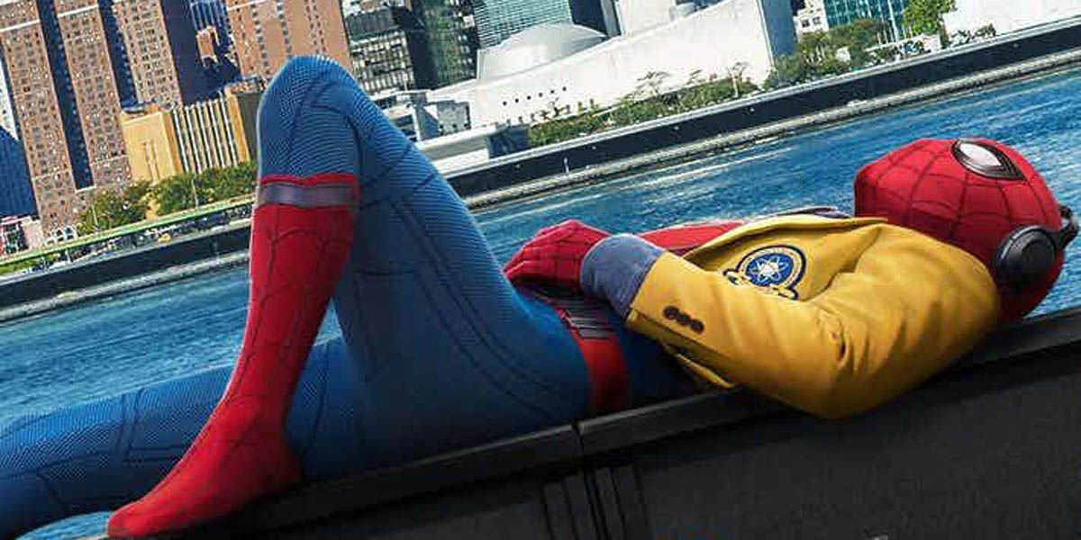 Holland really sleeping on Spider-Man: Homecoming Poster | CBR