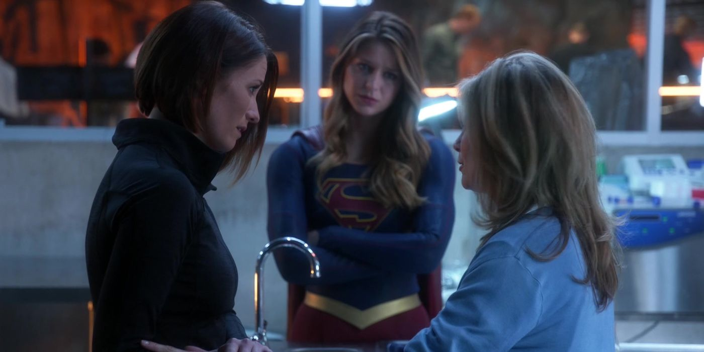 Young Kara Alex Recast For Supergirl S3 Flashback Cbr