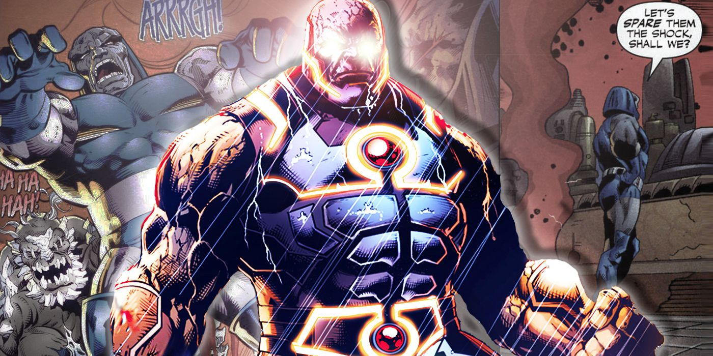 The Worst A Few Best Things Darkseid Has Done Cbr
