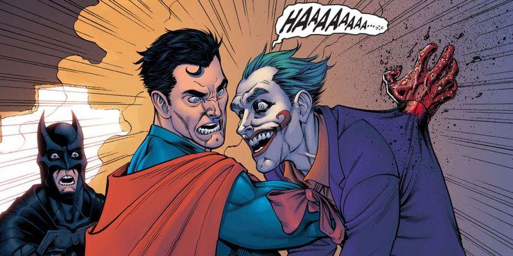 injustice joker - 10 Decisiones morales cuestionables que Superman ha tomado en los cómics
