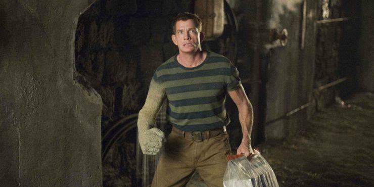 Thomas Hayden Church's Flint Marko in Spider-Man 3