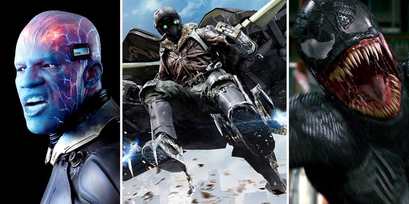 15 spider-man movie villains ranked | cbr