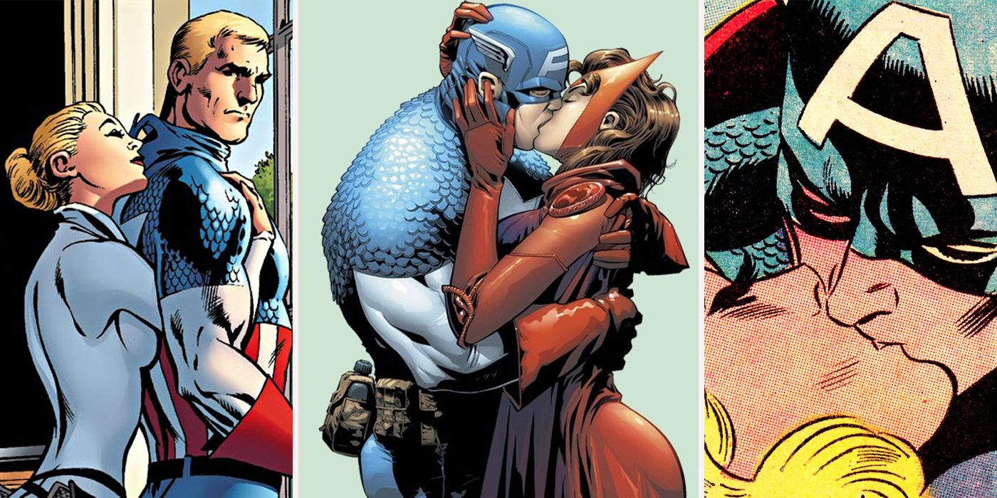 15 women captain america has slept with | cbr
