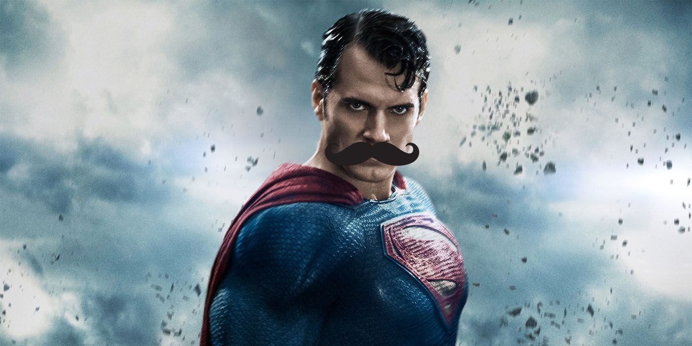 Justice League Image Reveals New Look at Henry Cavill's Mustache