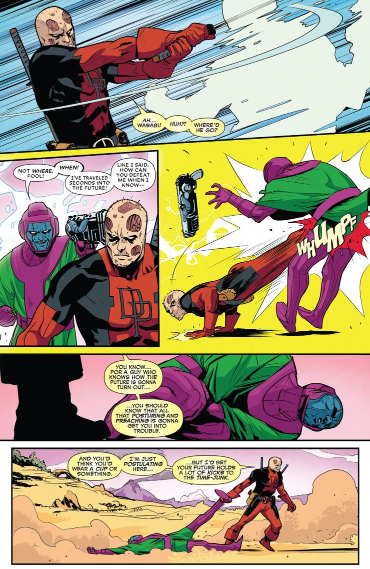 Deadpool Kang 10 Marvel Heroes Who Have Made Kang The Conqueror Kneel