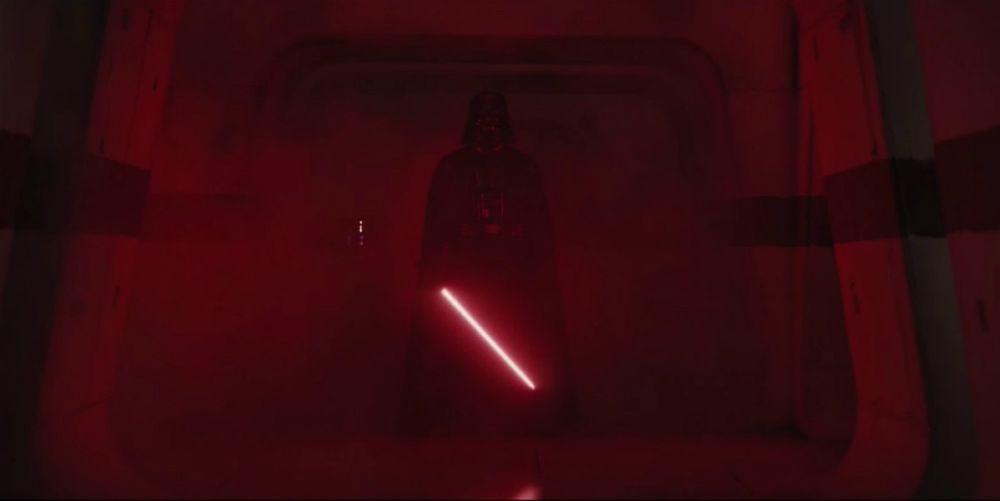 Star Wars: Rogue One Writer Shares 'Batsh-t' Cut Darth Vader Scene
