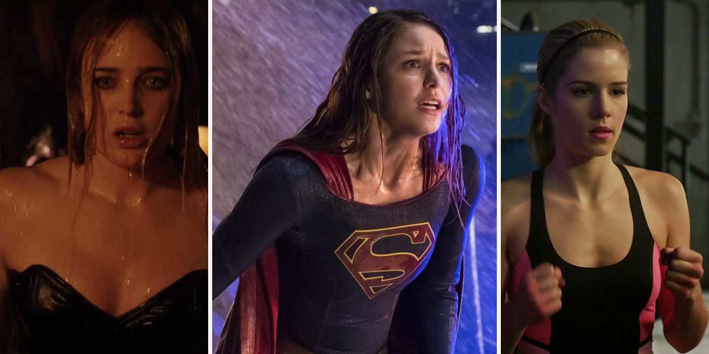 The 15 Steamiest Moments in the Arrowverse   CBR