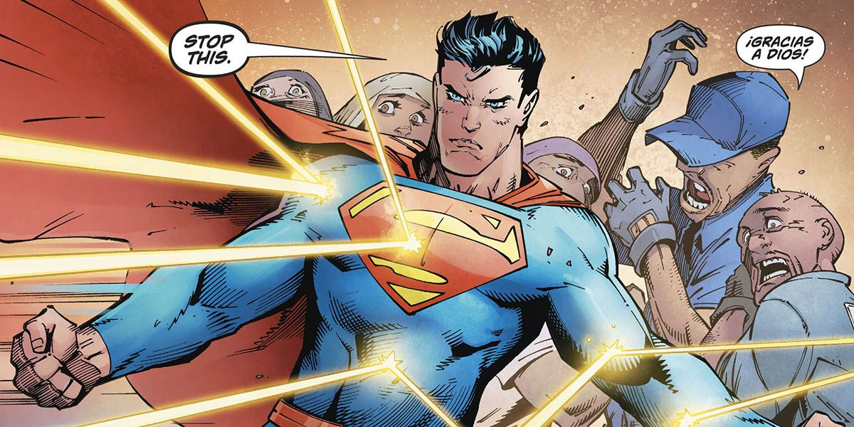 Superman Saved Immigrant Workers Because it's What He Does | CBR