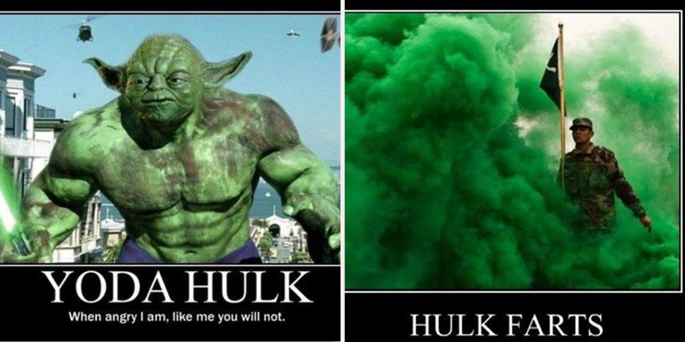 Hilarious Hulk Memes Cbr