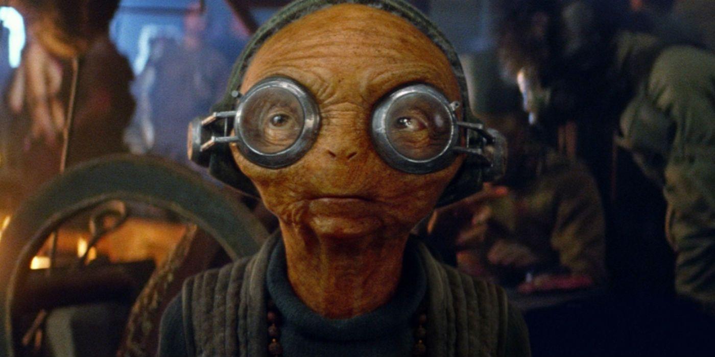 Star Wars: Rise of Skywalker's Maz Kanata Was a Puppet, Not CGI