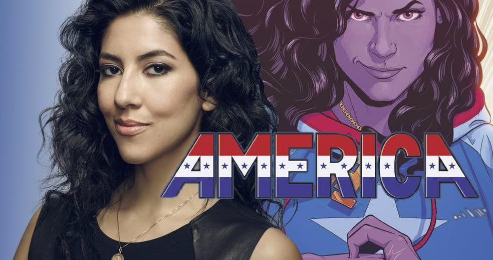 Brooklyn Nine-Nine Star Suits Up as America Chavez   CBR