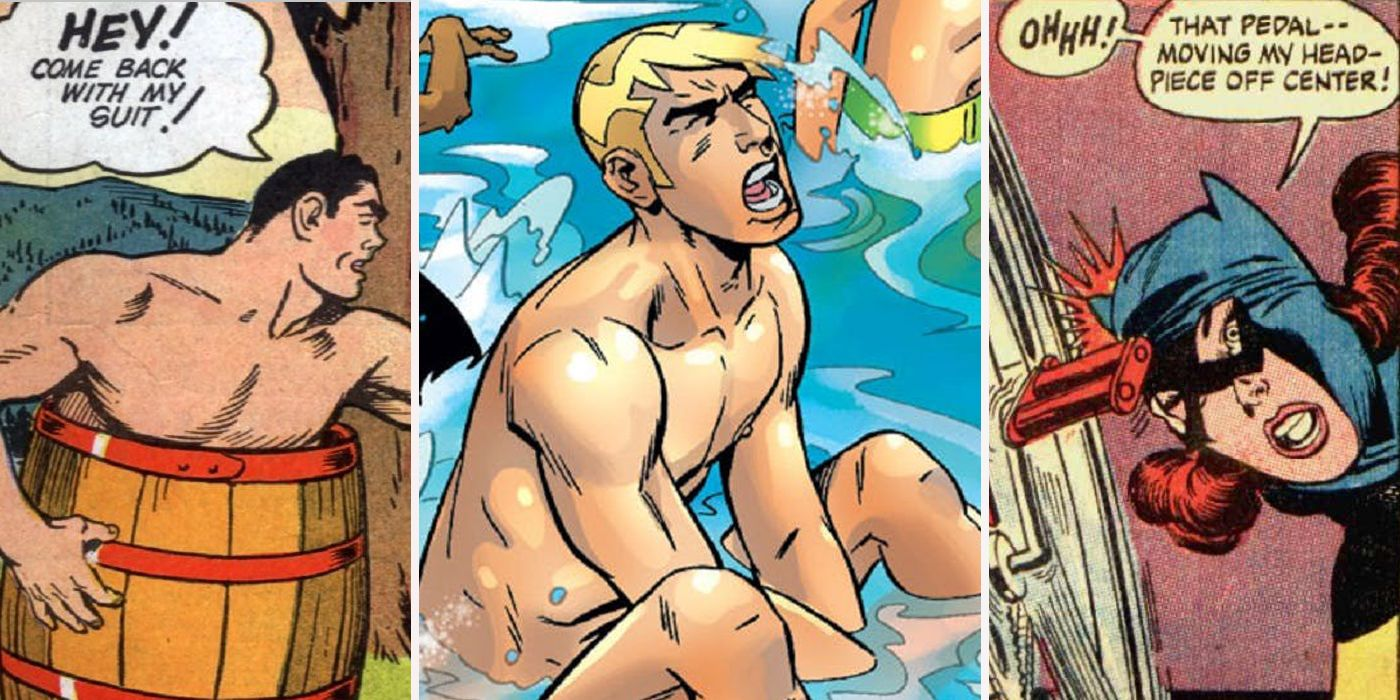 Naked embarassment male Comic