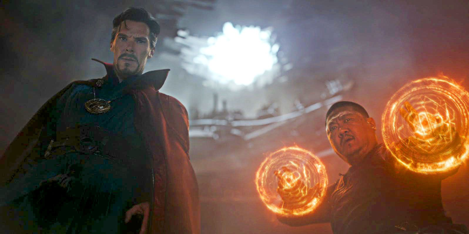 An Infinity Gauntlet Scene Is Brought To Life In Avengers