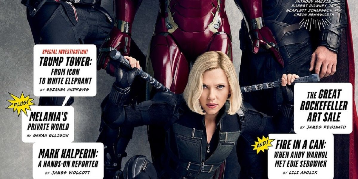 Why Black Widow Goes Blonde For Avengers Infinity War Cbr