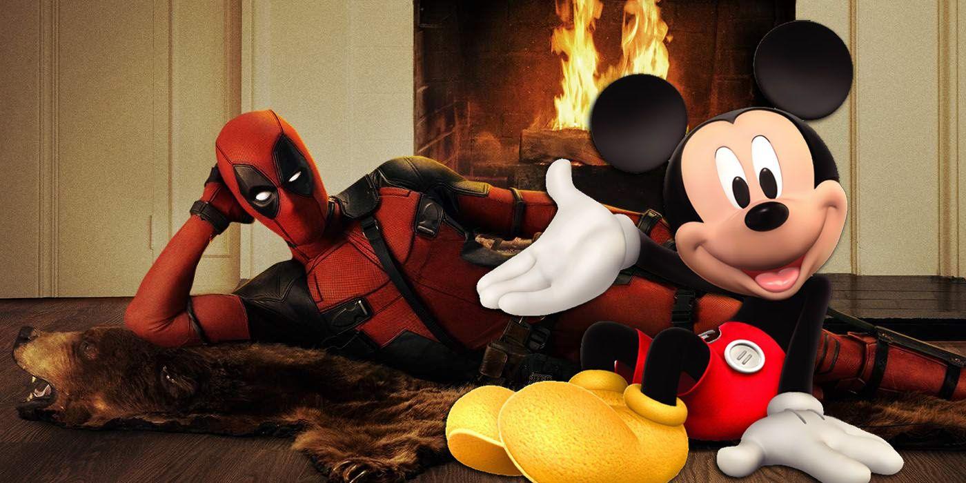 Ryan Reynolds's Deadpool Celebrates Disney's Fox Takeover