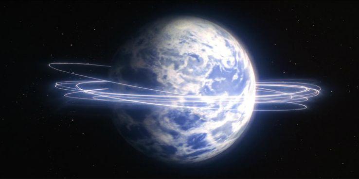 Superman flying around earth reverses time to save lois - Cinco mitos sobre los poderes de Superman y cinco que en realidad son ciertos