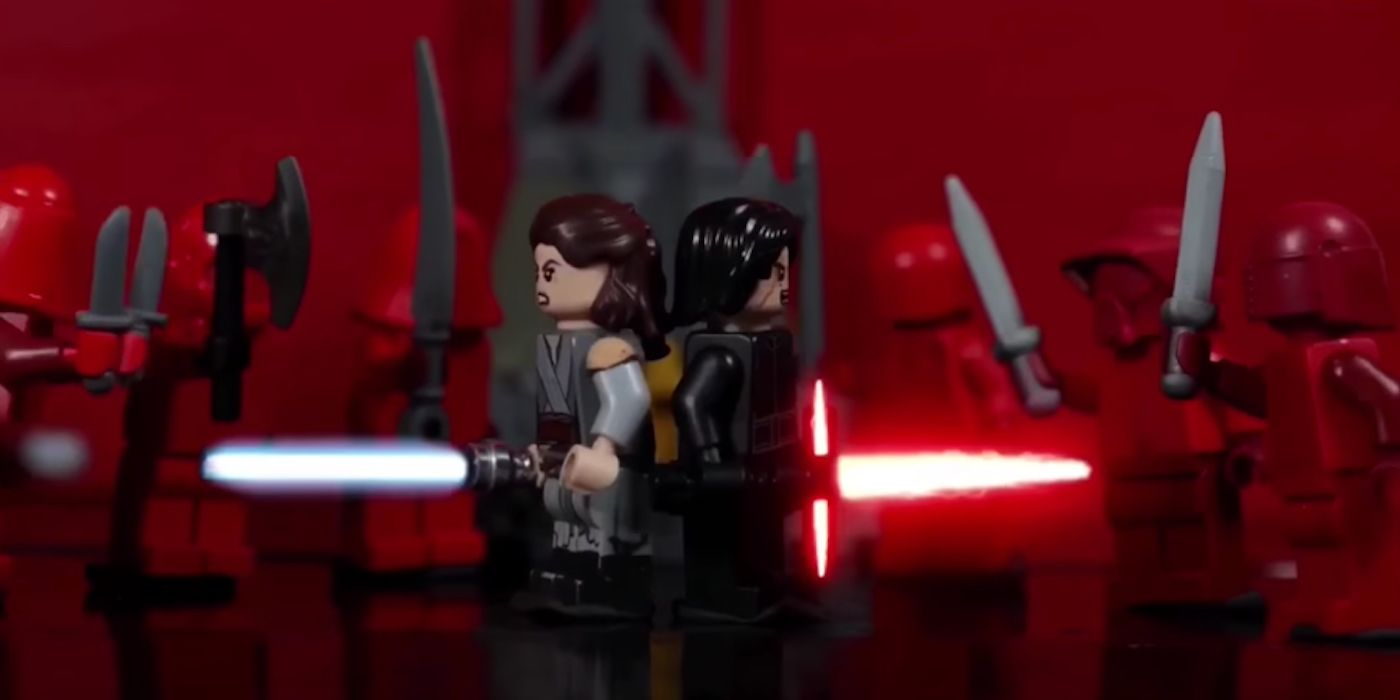 Star Wars Last Jedi S Throne Room Scene Done With Lego Cbr