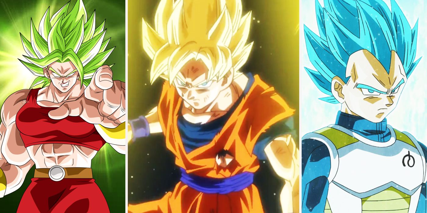 Every Level Of Super Saiyan Ranked