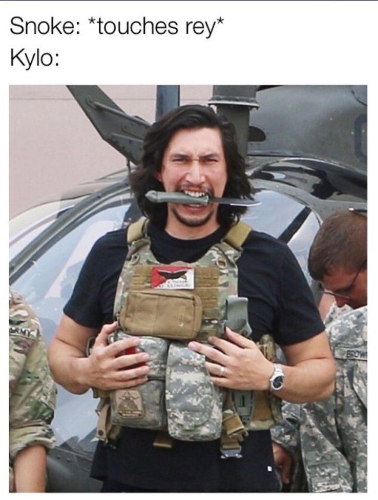 Kylo Ren And Rey Memes | CBR