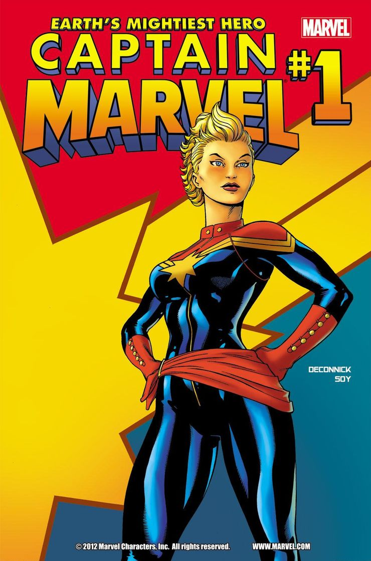 Captain Marvel Costumes Through The Years Cbr The costume guide to all of captain marvel / carol danvers outfits, portrayed by brie larson, in captain marvel. captain marvel costumes through the