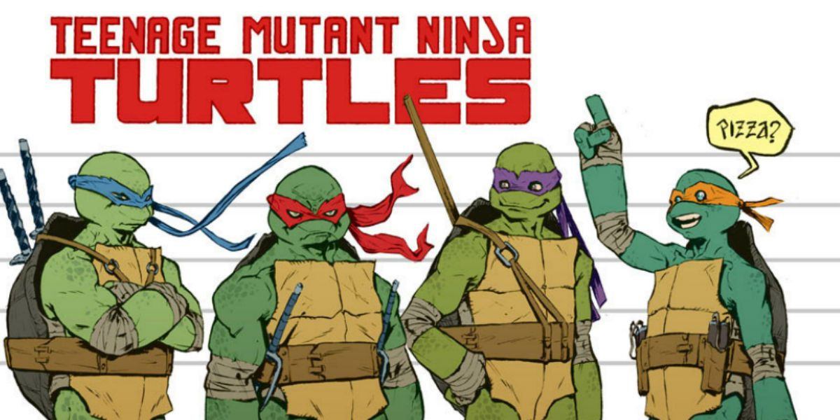 TMNT Fully Debuts Its Female Turtle, Including Her Mask Color