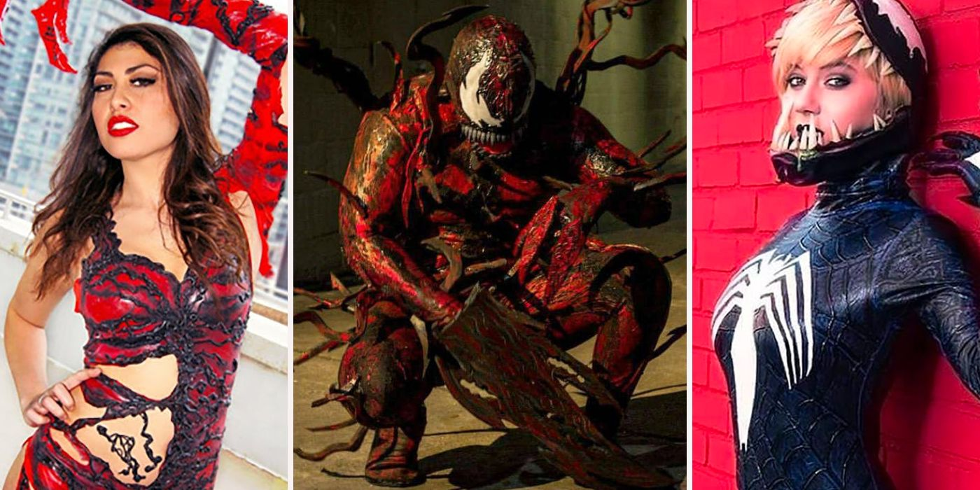 15 Impossible Venom And Carnage Cosplays Cbr