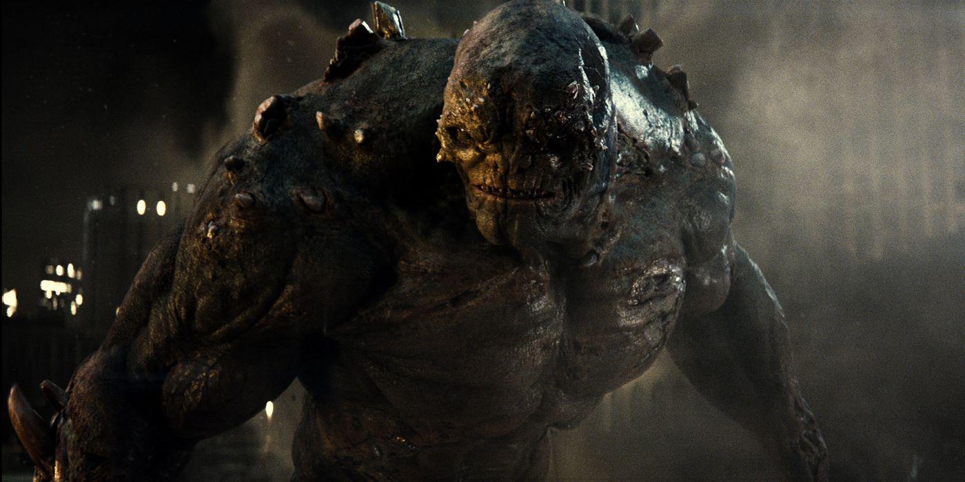 Unused Batman v Superman VFX Footage Features Doomsday Rampage