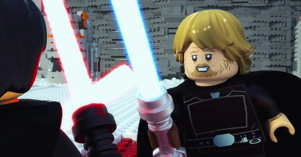 Lego Star Wars Recaps The Last Jedi In Animated Short Cbr