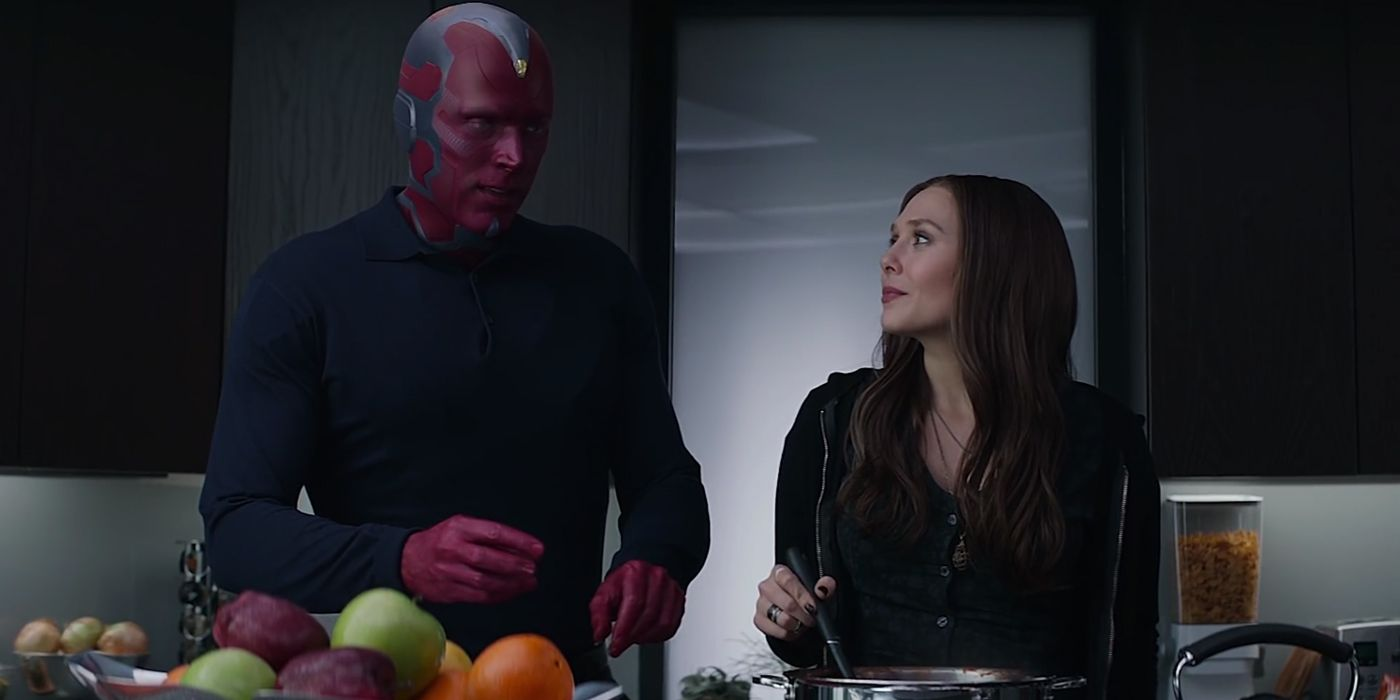 Disney Confirms Scarlet Witch & Vision Series