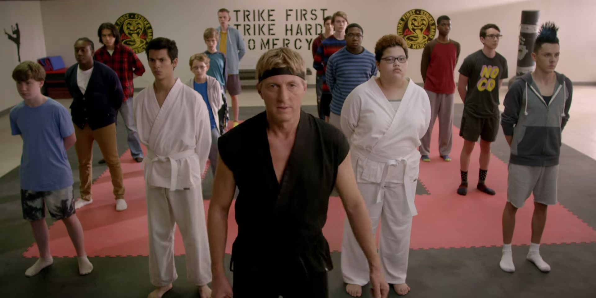 Cobra Kai Season 2 Sneak Peek Reunites Kreese and Lawrence
