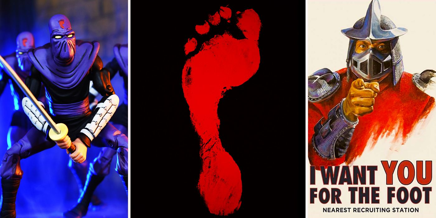 16 Things You Never Knew About The Foot Clan Cbr