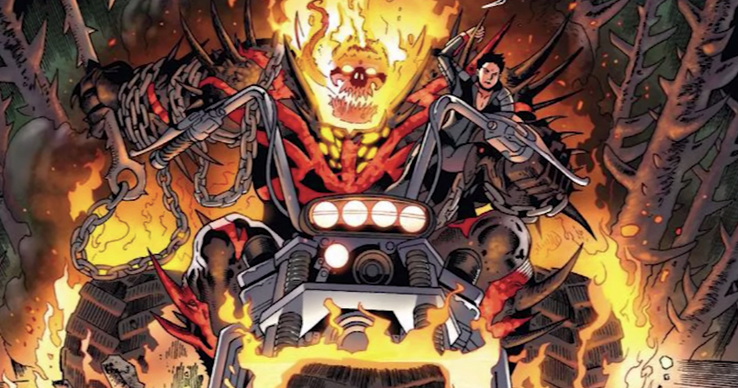 Spirits of Vengeance: 16 Versions Of Ghost Rider Ranked | CBR