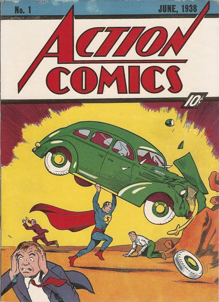 action comics 1 1 - ¿Fue Action Comics #1 realmente lanzado el 18 de abril?