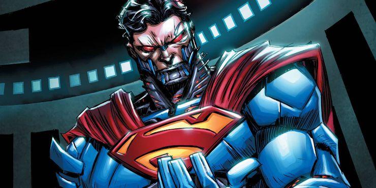 cyborg superman supergirl hank henshaw 212738 - Llámame Superman pero no Clark Kent