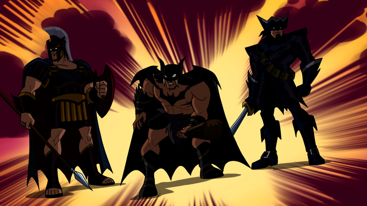 https://static1.cbrimages.com/wordpress/wp-content/uploads/2018/05/Gladiator-Batman-Caveman-Batman-Pirate-Batman-in-Batman-Beyond.png?q=50&fit=crop&w=740&h=416