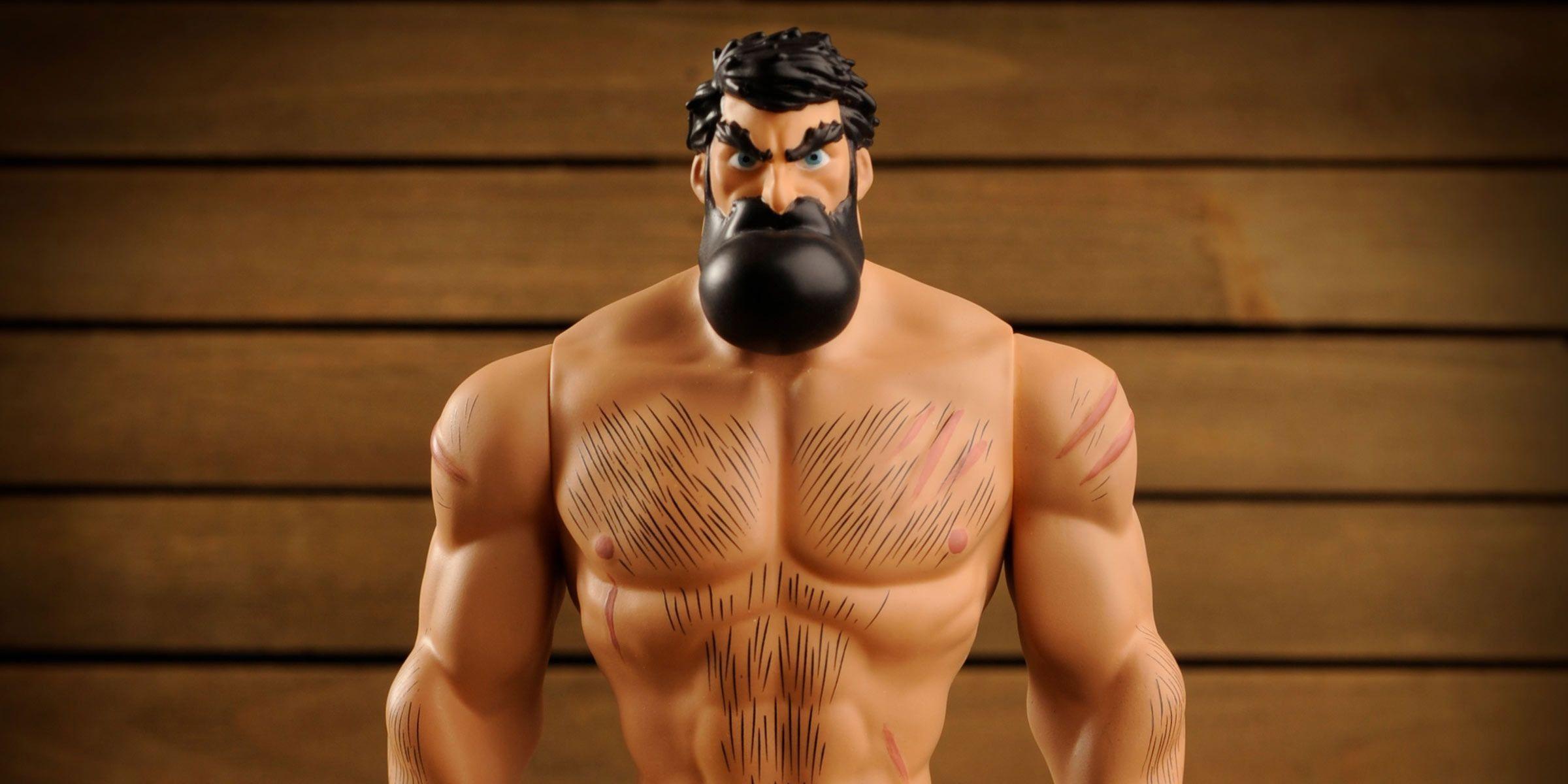 Image S Shirtless Bear Fighter Gets Vinyl Figure Cbr