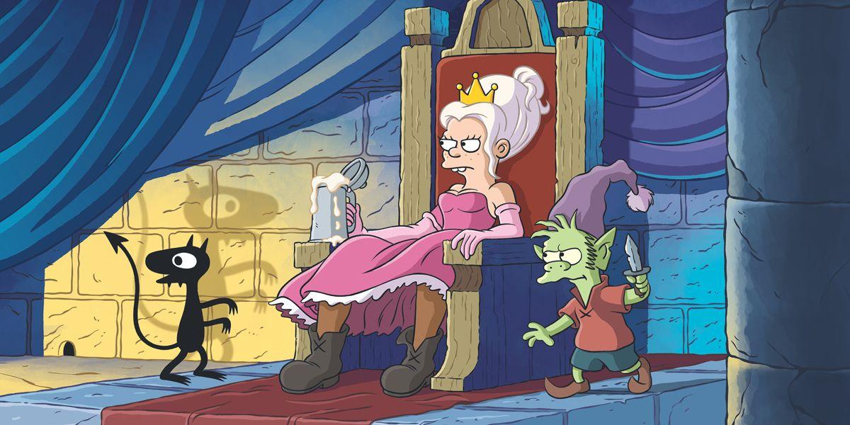 Matt Groenings Netflix Cartoon Disenchantment Debuts Art -4835